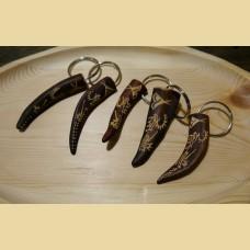 Брелок кончик рога северного оленя, изображения петроглифов